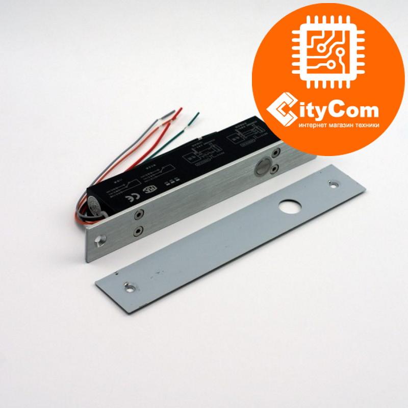 Врезная электромеханическая защелка, замок, щеколда соленоидного типа с функцией задержки SmartLock DS-200SD