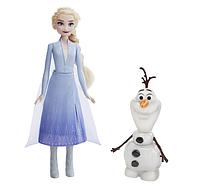 Игровой набор Эльза и Олаф Disney Princess холодное сердце 2, фото 1