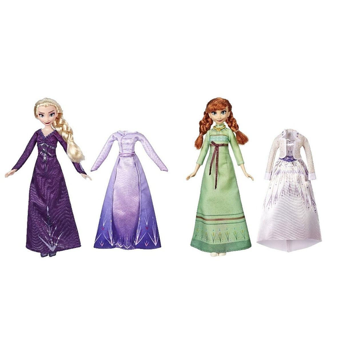 Кукла Холодное сердце 2 Disney Frozen с дополнительными нарядами - фото 1