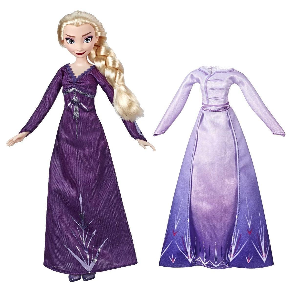 Кукла Холодное сердце 2 Disney Frozen с дополнительными нарядами - фото 4