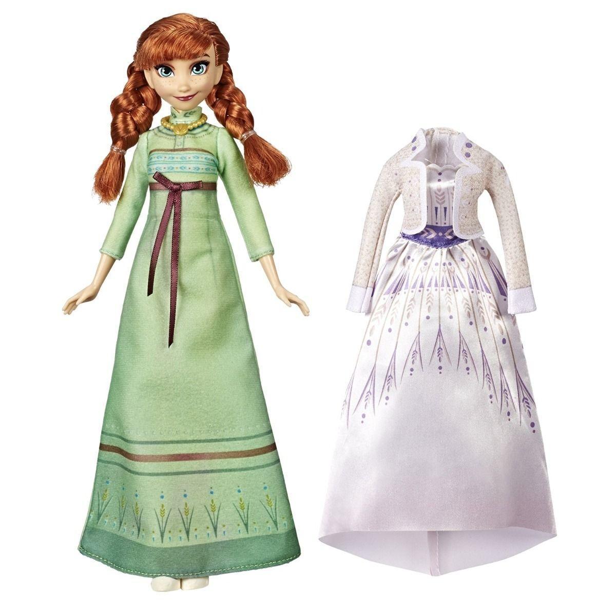Кукла Холодное сердце 2 Disney Frozen с дополнительными нарядами - фото 5