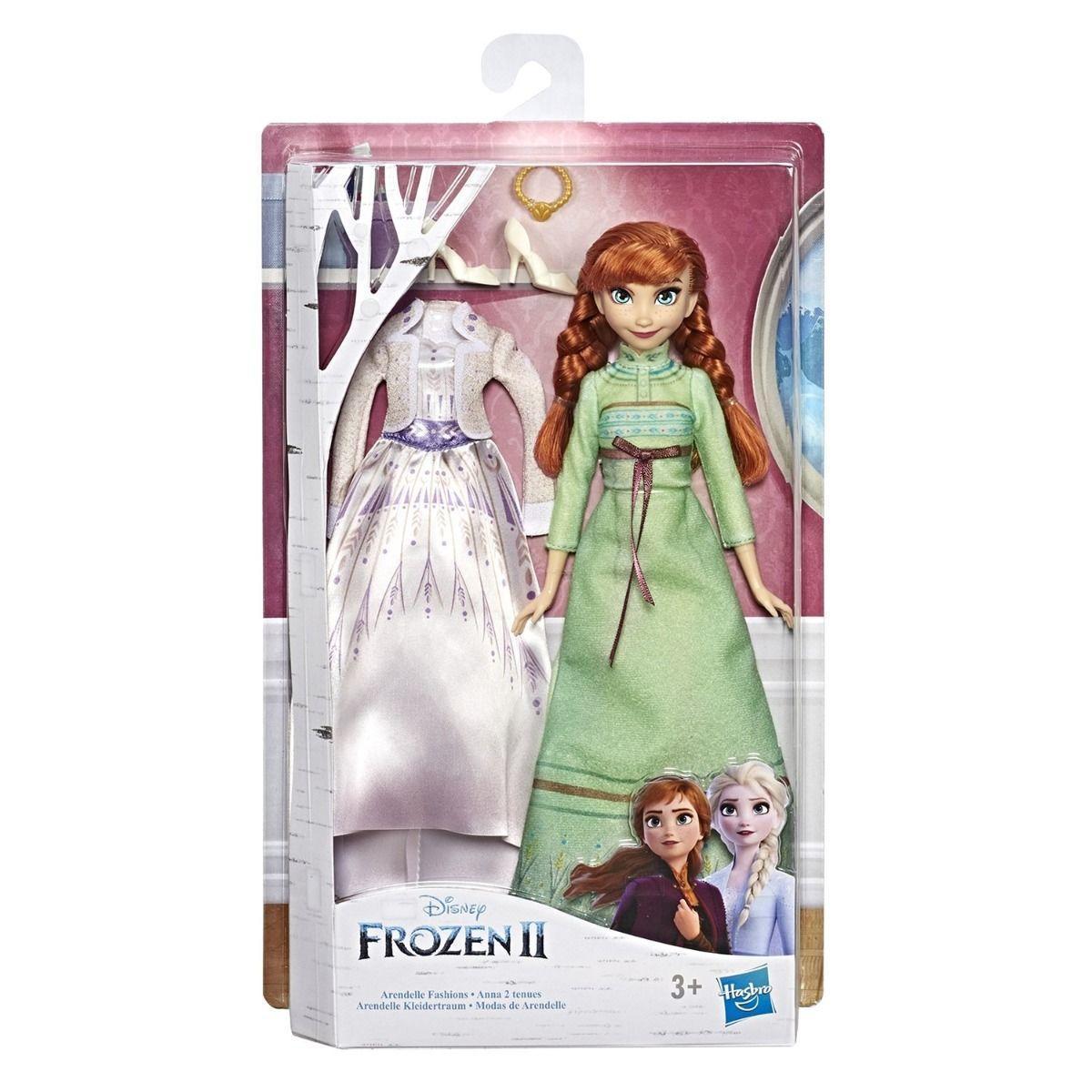 Кукла Холодное сердце 2 Disney Frozen с дополнительными нарядами - фото 6
