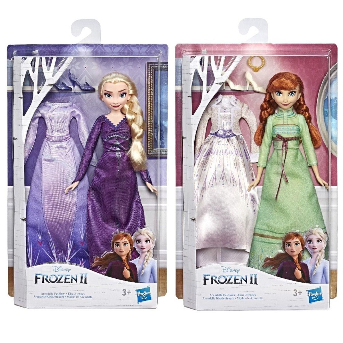Кукла Холодное сердце 2 Disney Frozen с дополнительными нарядами - фото 8