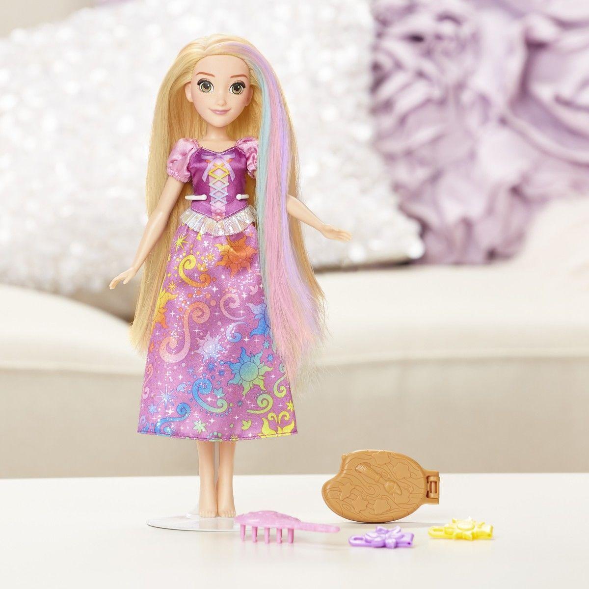 Кукла Рапунцель с Радужными волосами Disney - фото 1
