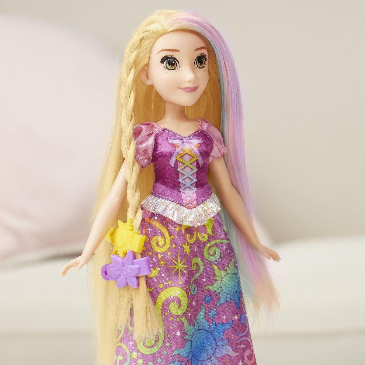 Кукла Рапунцель с Радужными волосами Disney - фото 2