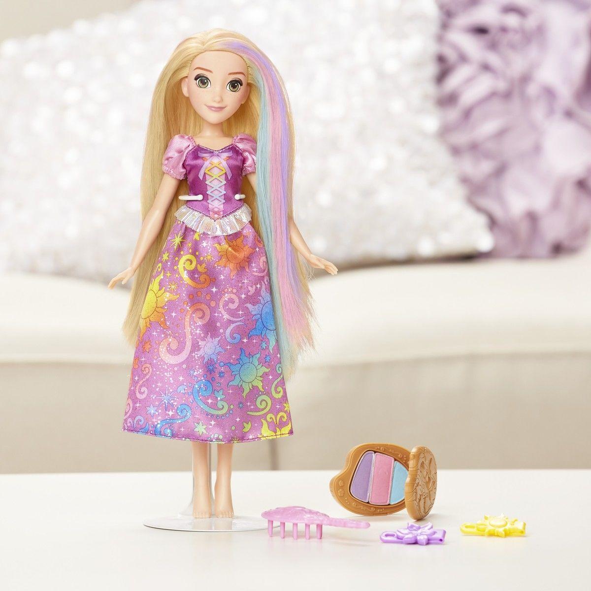 Кукла Рапунцель с Радужными волосами Disney - фото 3
