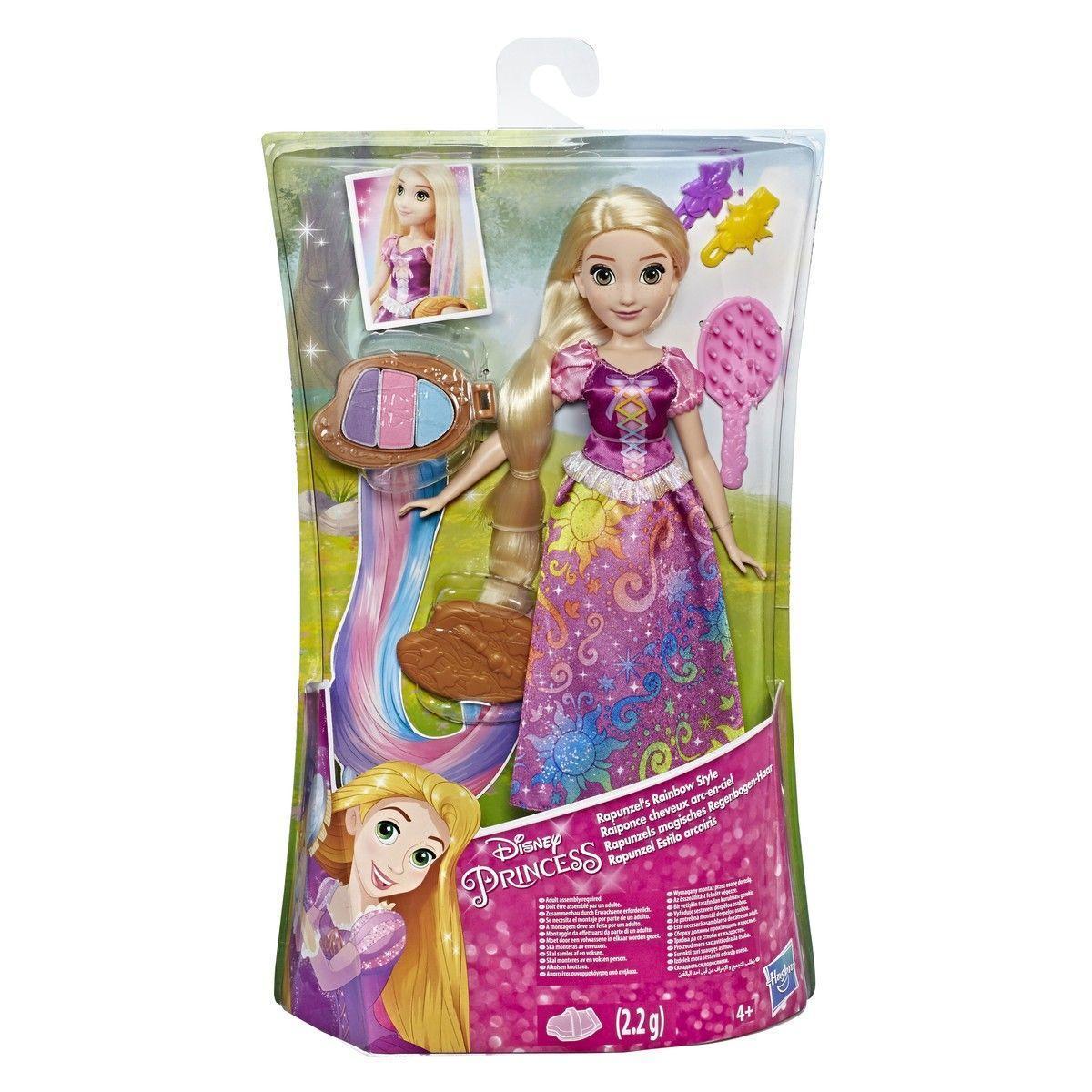 Кукла Рапунцель с Радужными волосами Disney - фото 5