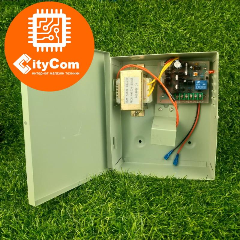 Блок питания для СКУД с функцией автономной работы DS-803 с 220В на 12В Арт.6229