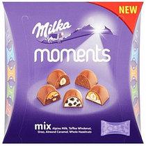 Конфеты Milka Moments Mix 97гр (16шт-упак)