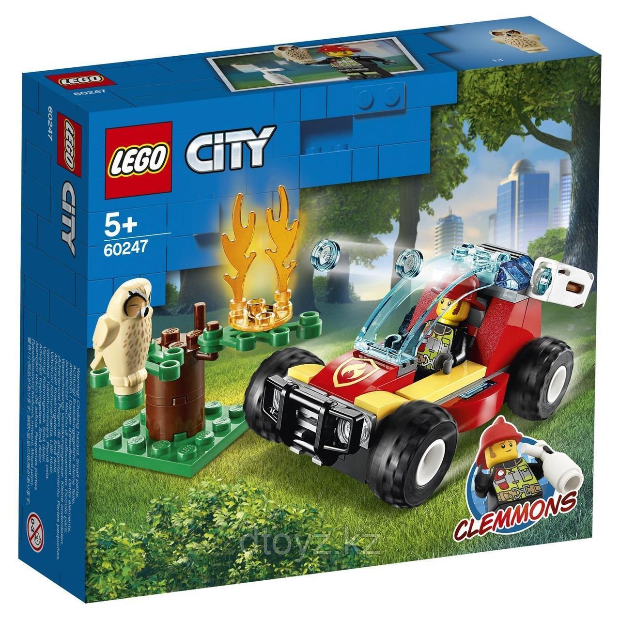 Lego City 60247 Лесные пожарные