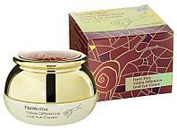 Крем для кожи вокруг глаз с муцином улитки FarmStay Visible Difference Snail Eye Cream