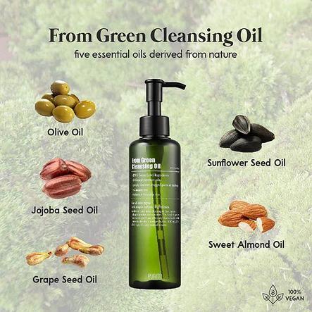 Органическое гидрофильное масло PURITO From Green Cleansing Oil (200мл), фото 2
