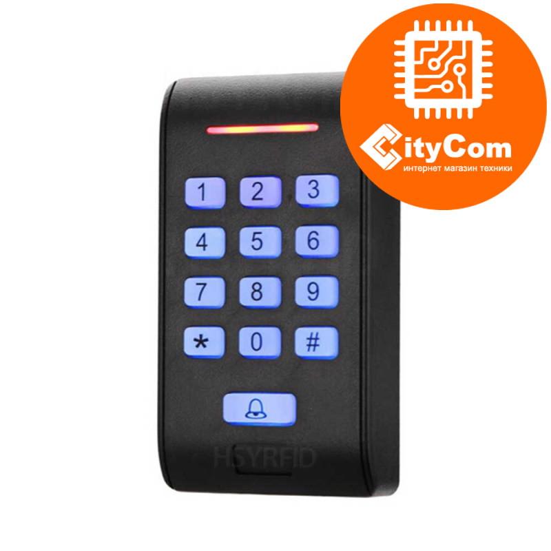 Панель контроля доступа SmartLock DS-SN-K2D кнопки+ карта + WG26. СКУД. Панель накладная. Сенсорная. Арт.6213