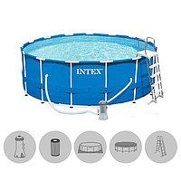 Каркасный бассейн Intex Metal Frame 457 см 122 см 28242NP