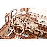 Конструктор 3D-пазл Ugears  Кабриолет мечты 735 деталей, фото 5
