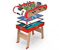 Деревянный полупрофессиональный стол Smoby Powerplay 4 в 1, фото 1