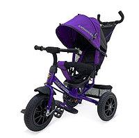Детский велосипед Lexus Trike с ручкой Фиолетовый, фото 1