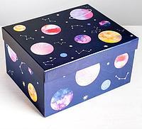 Коробка складная «Космос», 31,2 х 25,6 х 16,1 см