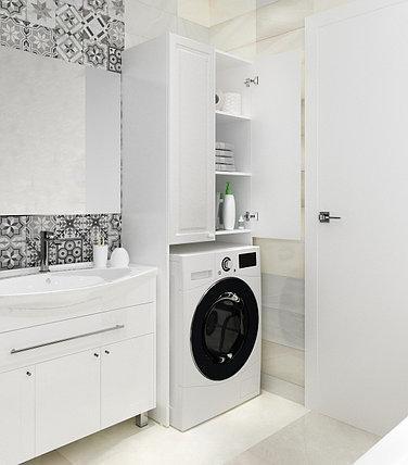 Шкаф Wall  67 см. над  стиральной машиной. РФ, фото 2