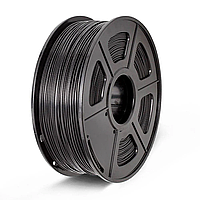 PLA пластик 1,75 мм. 3DN (1 кг.) цвет черный