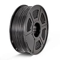 PLA пластик филамент 1,75 мм. 3DN (1 кг.) цвет черный