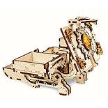 Конструктор 3D-пазл Ugears  Янтарная шкатулка 189 деталей, фото 6
