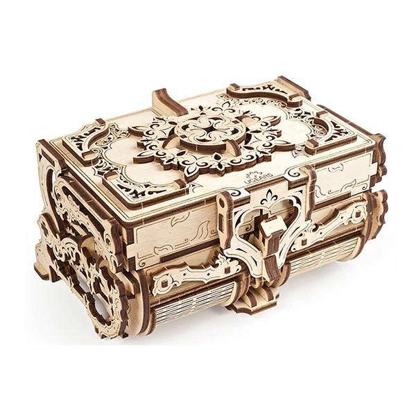 Конструктор 3D-пазл Ugears  Антикварная шкатулка 185 деталей