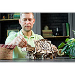 Конструктор 3D-пазл Ugears  Антикварная шкатулка 185 деталей, фото 3