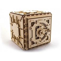 Конструктор 3D-пазл Ugears  Сейф 179 деталей