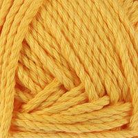 Пряжа 'Толстый хлопок' 100 хлопок 95м/100гр (104 жёлтый)