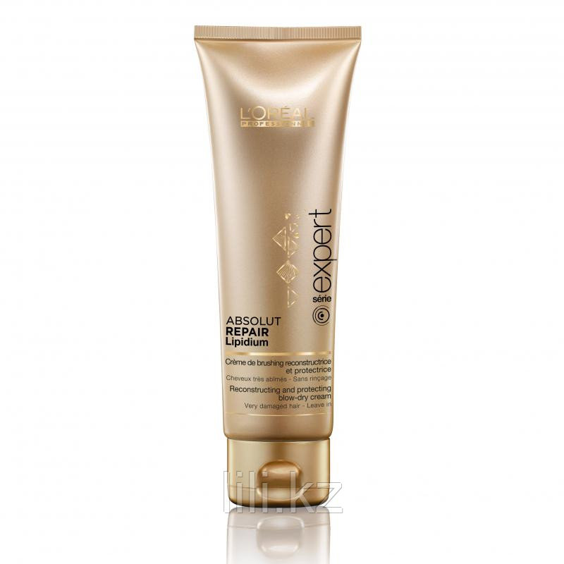 Термозащитный крем для восстановления поврежденных волос L'Oreal Professionnel Absolut Repair Lipidium 125 мл.