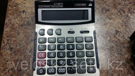 Калькулятор настольный CT-8816, фото 2