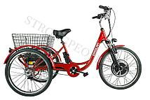 Трицикл Crolan 500W (Красный)