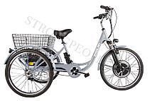 Трицикл Crolan 500W (Серебро)