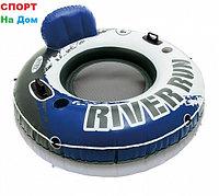 Надувной круг Intex 58854 для плавания 126 см с ручками