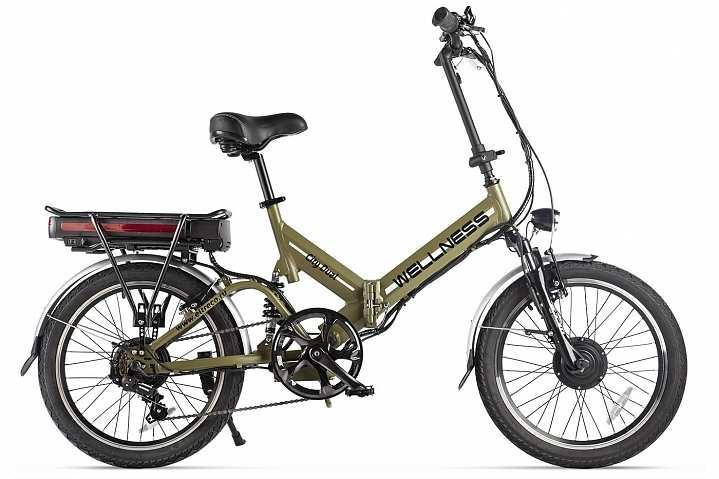 Велогибрид Wellness City Dual (Хаки матовый)