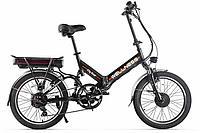 Велогибрид Wellness City Dual (Черный матовый)
