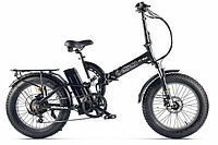 Велогибрид Eltreco TT Max (Черный матовый)