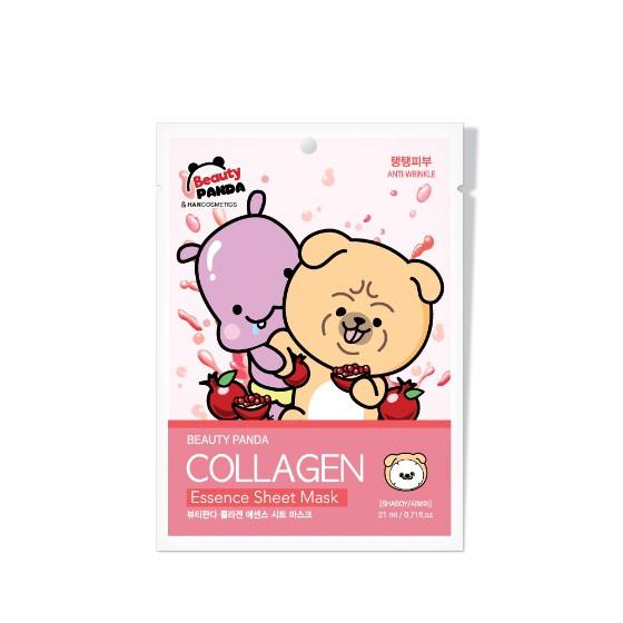 Beauty Panda Collagen Essence Sheet Mask Тканевая маска с Коллагеном