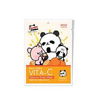 Beauty Panda Vita-C Essence Sheet Mask Тканевая Маска с Витамином С, фото 1