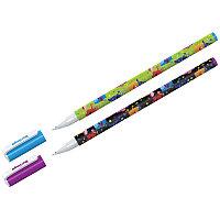 "Ручка шариковая Berlingo ""Funline. Monsters"", синяя, 0,7мм, рисунок на корпусе, ассорти 07270, фото 1"