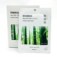 Maeily Bamboo Essence Sheet Mask Тканевая маска на основе Бамбуковых побегов, фото 1