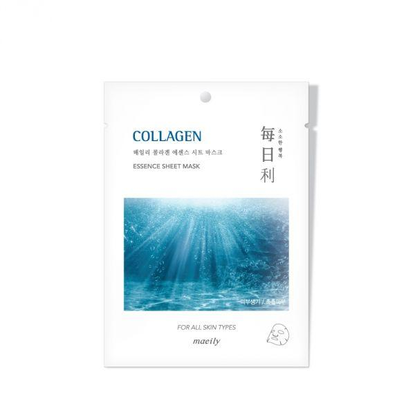 Maeily Collagen Essence Sheet Mask Тканевая Маска с Коллагеном