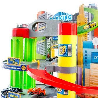 Детские парковки , гаражи ,треки , железные дороги
