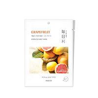 Maeily Grapefruit Essence Sheet Mask Тканевая маска на основе плодов Грейпфрута