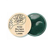 L.Sanic Гидрогелевые патчи с экстрактом голубой агавы Herbal Blue Agave Hydrogel Eye Patches / 60 шт.