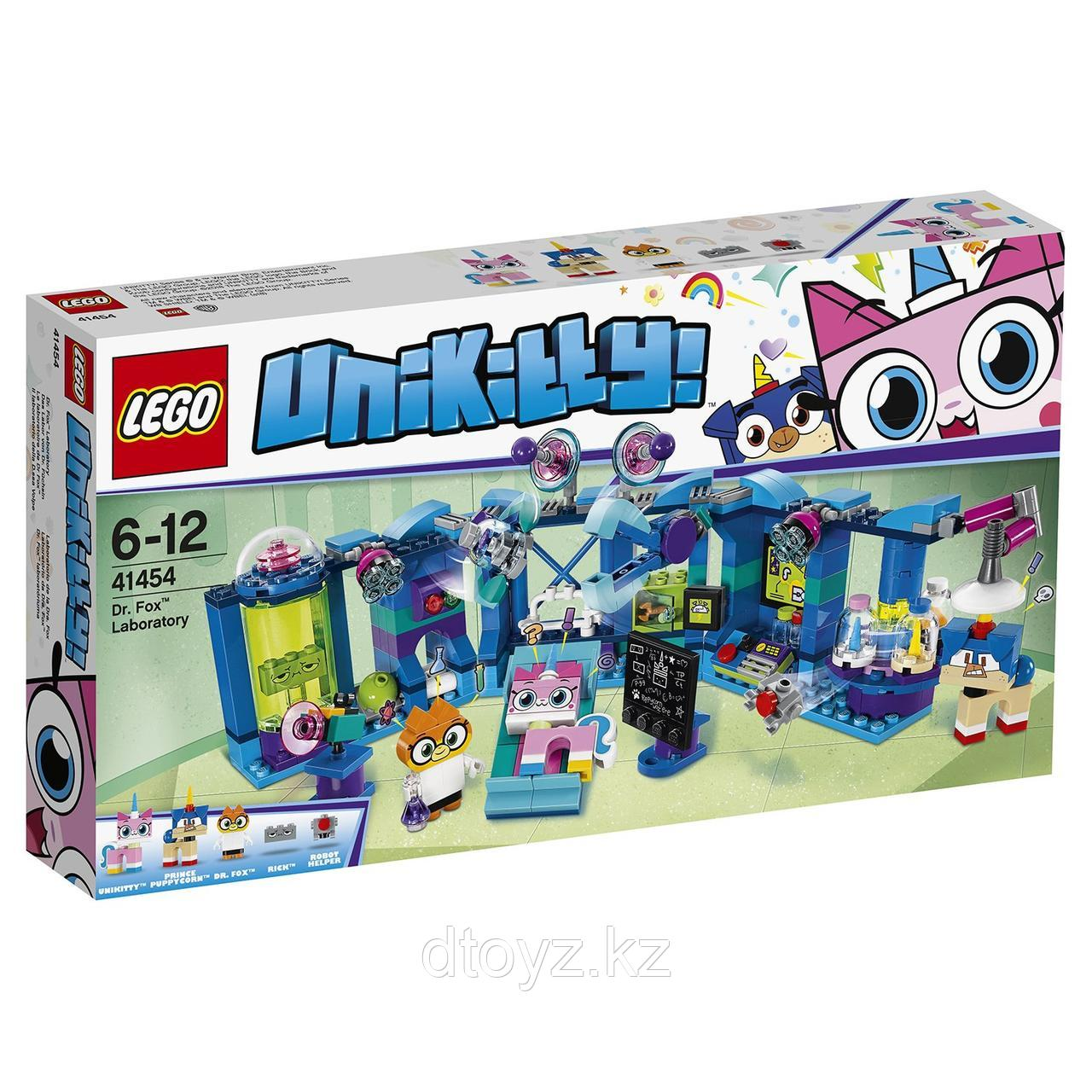 Lego Unikitty 41454 Лаборатория доктора Фокса