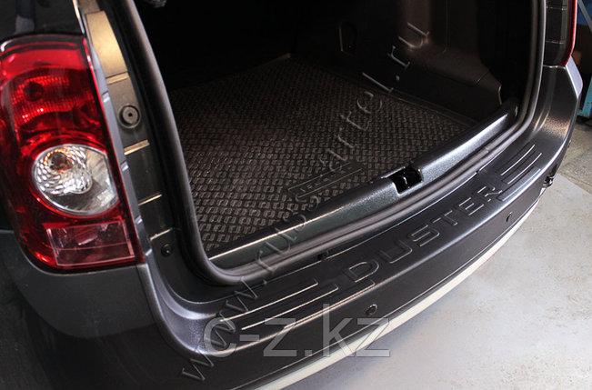 Защита заднего бампера Renault Duster 2010 - н.в., фото 2