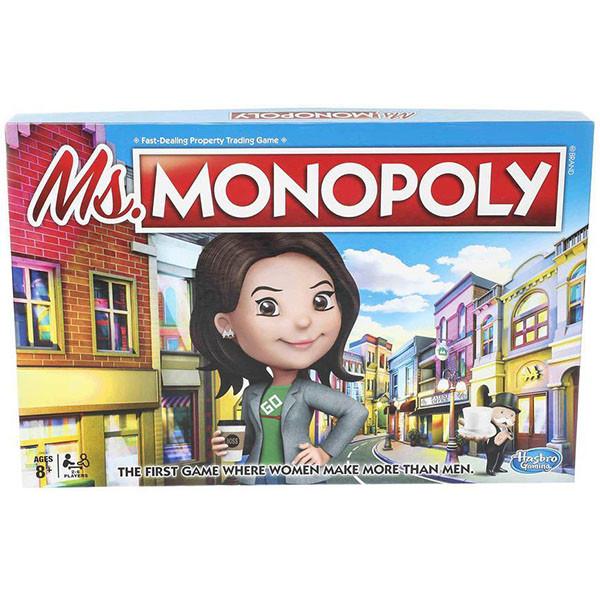"""Hasbro Настольная игра """"Мисс Монополия"""""""