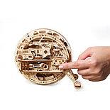 Конструктор 3D-пазл Ugears Моноколесо 300 деталей, фото 3